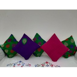 """Cushion Pillow for Home Decoration 12""""×12 """" Set of 5"""