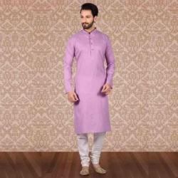 Men's Cotton Kurta Churidar Pyjama sets