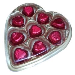 Homemade Heart Shape Chocolate Gift Box