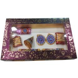 Handmade Diwali Crackers Chocolate Box