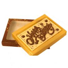 Handmade Happy Birthday - Greeting - Chocolate