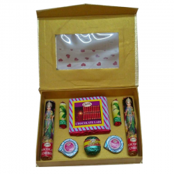 Diwali Crackers Chocolate Gift Box Homemade