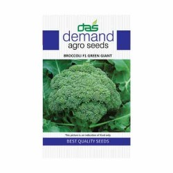 DAS agro seeds ( Broccoli F1 Green Giant ) 60 Seeds