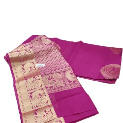 Jari handloom saree (Pink)
