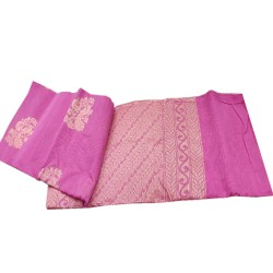 Jari handloom saree (Light Pink)