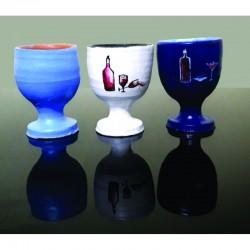 Three Pots With Stand Handmade