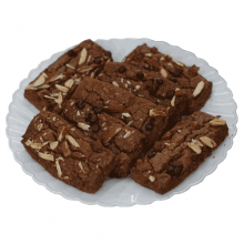 Chocolate Cookies-Almond Mix