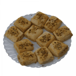 Homemade Cookies-Almond pista flavored