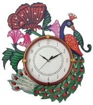 Wall Clock: Buy Wall Watches beautiful decorative traditional & colourful handmade Wall Watches