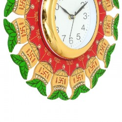 Home Decorative Wooden Wall Clock ( Multi color round wall clock )