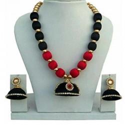 Hand Made Silk Dori Jewel Set  Fashion Jewellery
