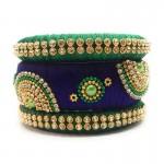 Handcrafted Designer Silk Thread Bangles for Women