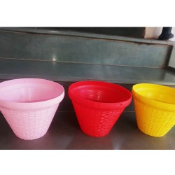 Beautiful Netted PVC pot