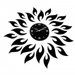 Acrylic Wall Clock, Size- 30x30 inches (black)