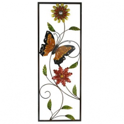 Butter Fly Flower Wall Hanging