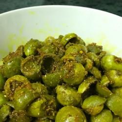 Homemade Bhokar Pickles