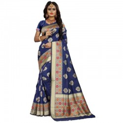 BANARASI HANDLOOM SILK SAREE Handwoven-Handcrafted