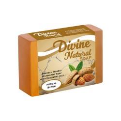 Handmade Divine Natural Herbal Scrub Soap