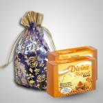 Handmade Divine Natural Honey , turmeric and Almond oil soap