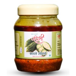 Homemade Karela Pickle